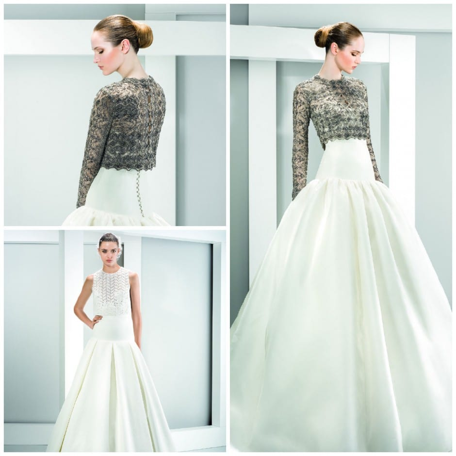 Two-piece wedding dresses make their mark - Morgan Davies Bridal