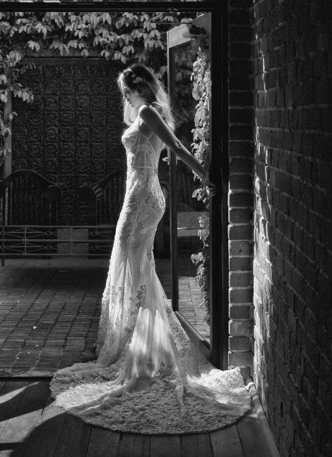 Pallas Couture is exclusive to Morgan Davies Bridal in Islington.
