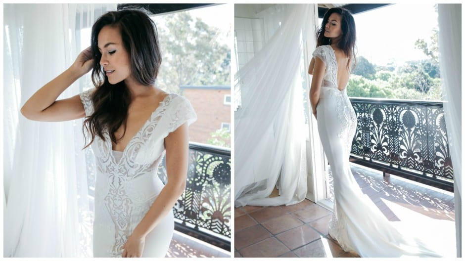 Pallas Couture bridal collection exclusive to Morgan Davies London