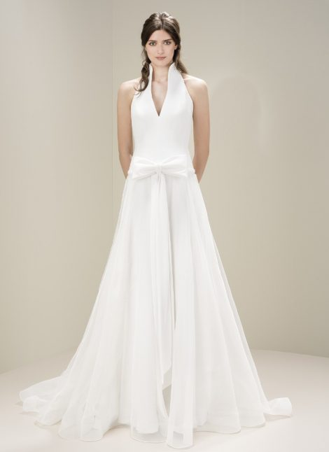Jesus Peiro 7054 - available now at Morgan Davies Bridal in London. Designer Jesus Peiro wedding dresses.