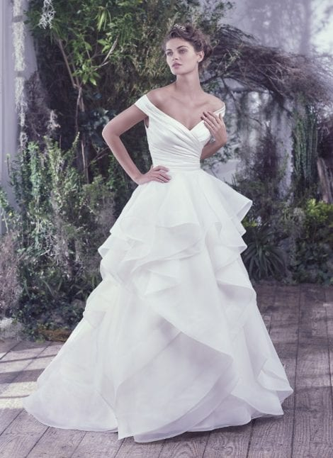 Maggie Sottero Trunk Show featuring 'Zulani' at Morgan Davies Bridal in Hitchin Hertfordshire
