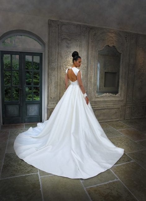 Grace Philips Wedding Dresses at Morgan Davies Bridal. This gown is Aurora by Grace Phillips