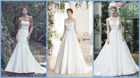 Designer wedding dress sale at Morgan Davies London boutique this February! Gowns from £500.