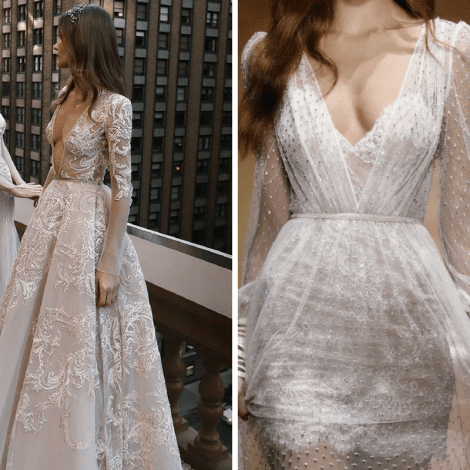 Inbal Dror Wedding Dress - New Collection Exclusively at Morgan Davies Bridal