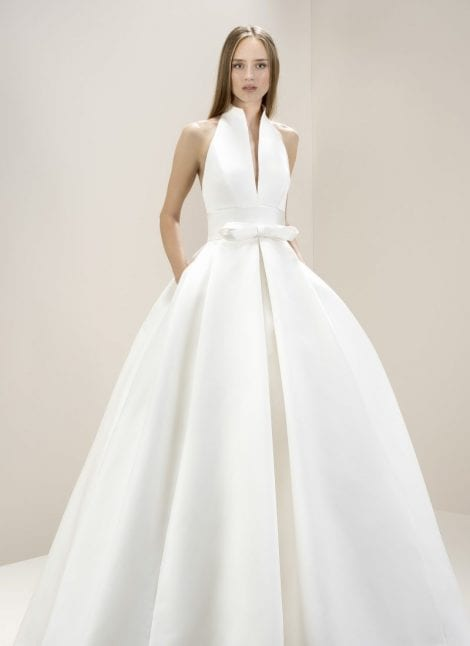 Jesus Peiro Wedding Dress Collection available at Morgan Davies Bridal in London.