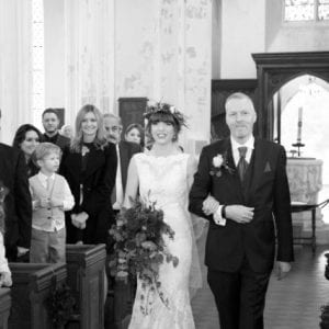 Annasul Y in Hertfordshire - here's a beautiful picture of our Real Bride Beth on her wedding day.