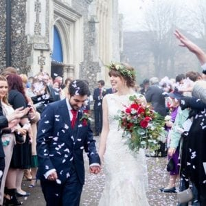 Annasul Y in Hertfordshire. Meet Beth, our beautiful Real Bride, who wore Annasul Y and was married in Hertfordshire.