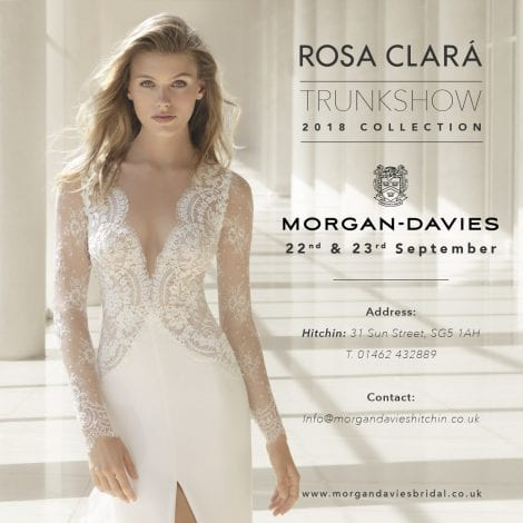 Rosa Clara Trunk Show 2017 at Morgan DAvies