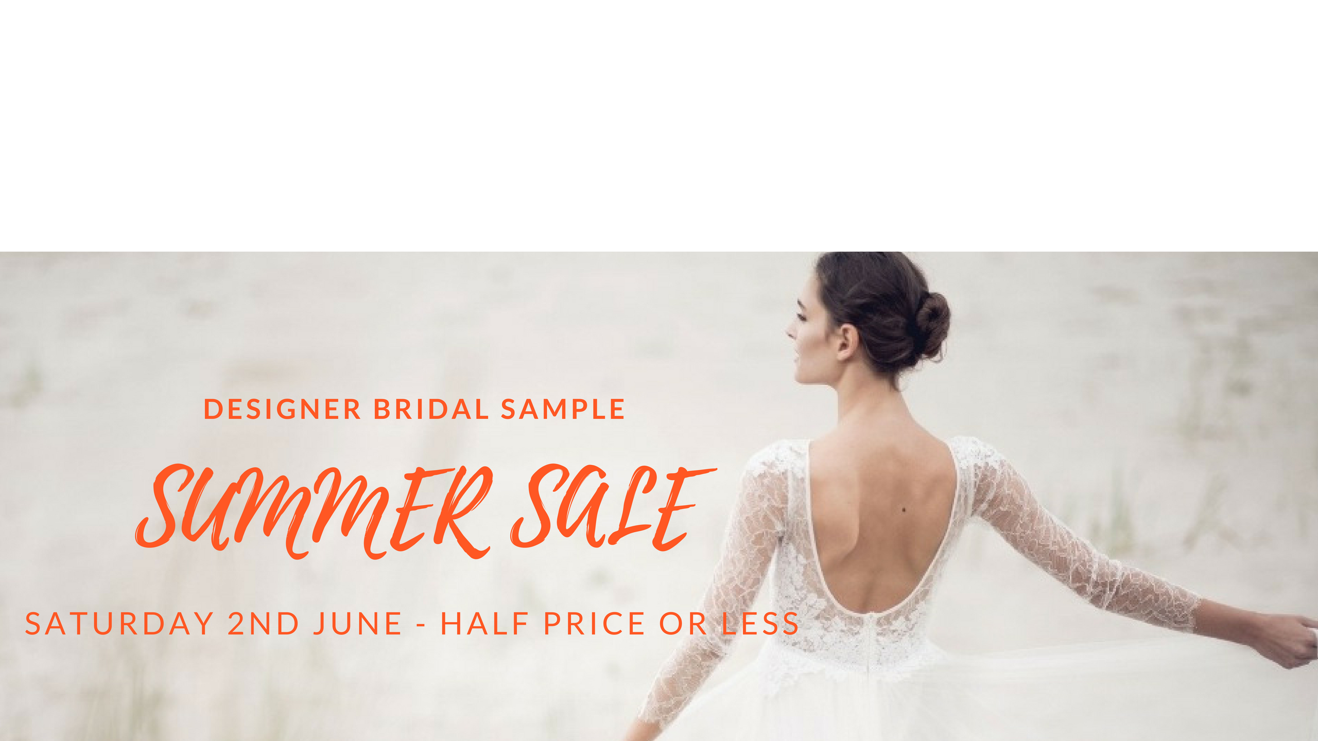 SUMMER SAMPLE SALE