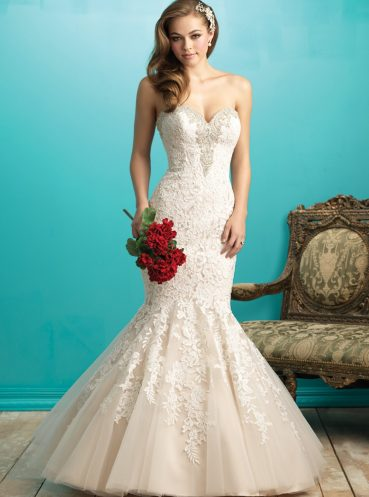 Memphis by Allure Bridals now available at Morgan Davies Bridal in Hitchin, Hertfordshire. Beautiful bridal wear boutique based on Sun Street.
