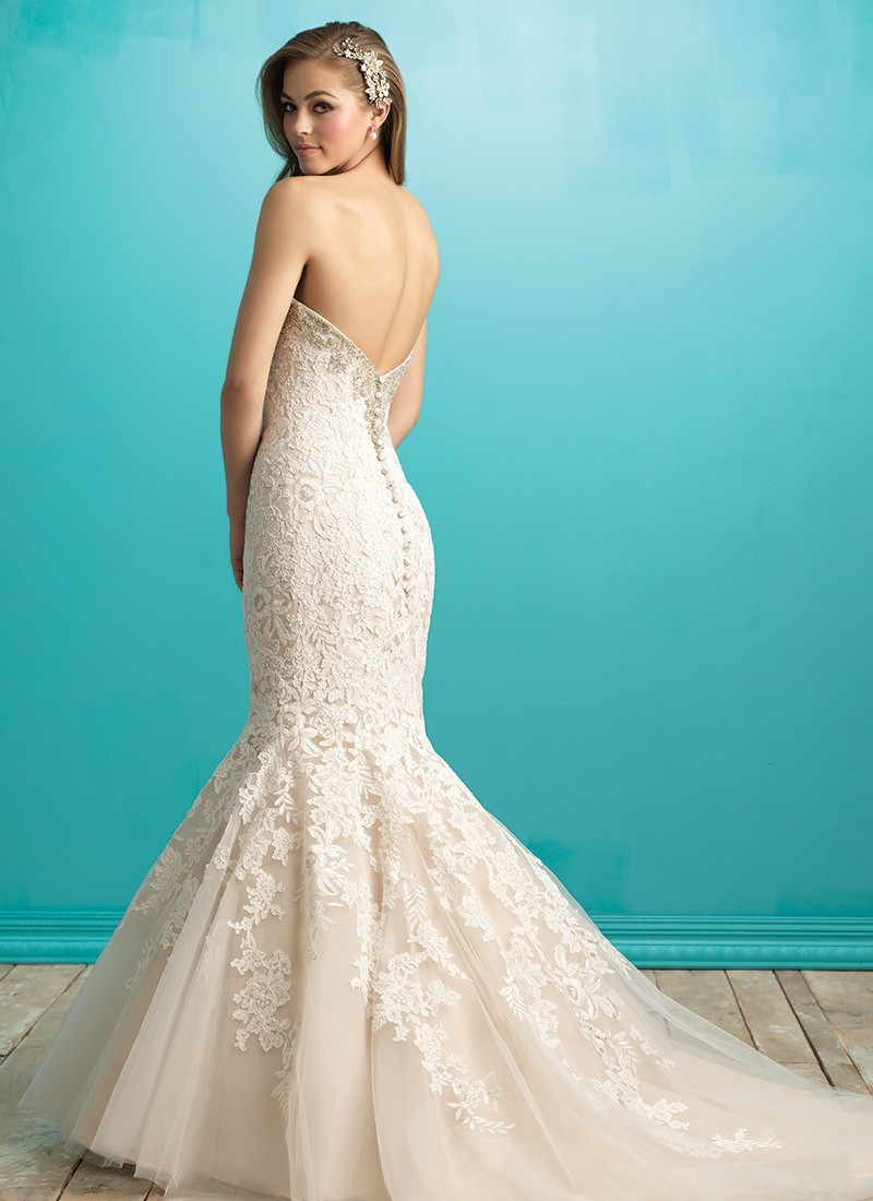 Memphis by Allure Bridals at Morgan Davies Bridal on Sun Street in Hitchin