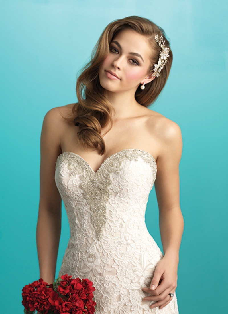 Memphis by Allure Bridals at Morgan Davies Bridal boutique in Hertfordshire.