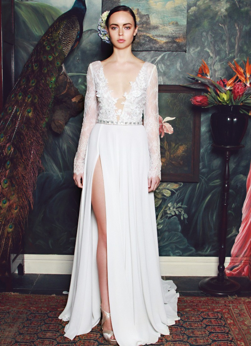 The Anna Georgina by Kobus Dippenaar 2015 Wedding Dress Collection Preview pics