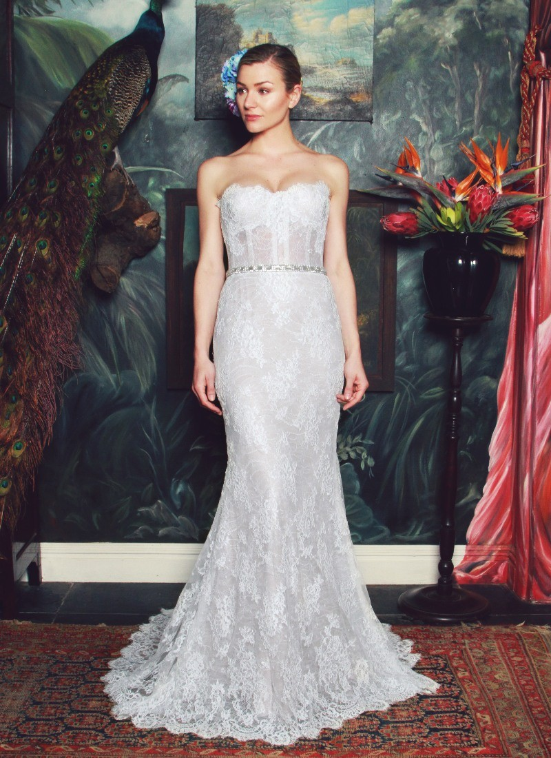 The Anna Georgina by Kobus Dippenaar 2015 Wedding Dress Collection Preview