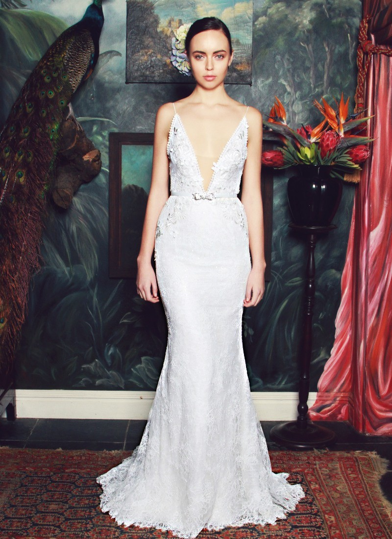 The Anna Georgina by Kobus Dippenaar 2015 Wedding Dress Collection Preview forecasting