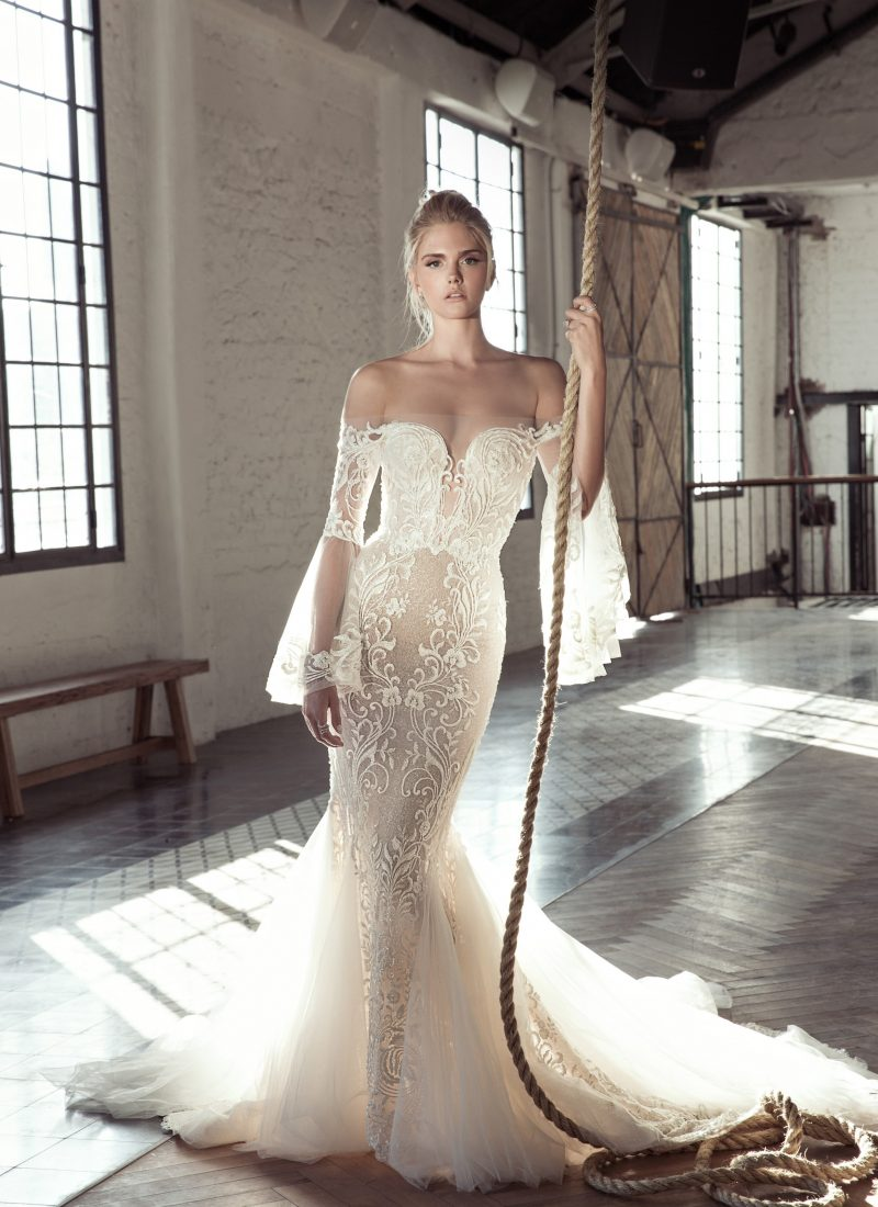 Lee Petra Grebenau Trunk Show in London at Morgan Davies Bridal