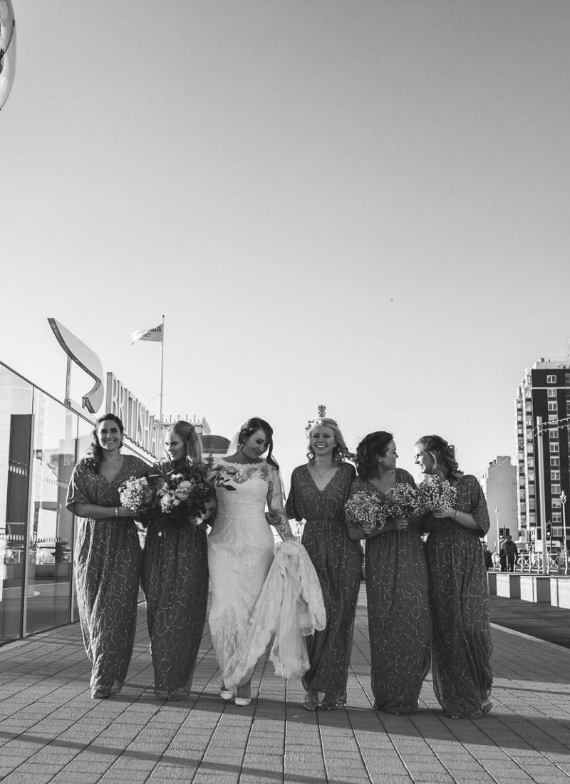 Shannon and her bridesmaids