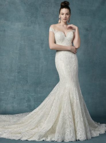Sabra wedding dress by Maggie Sottero