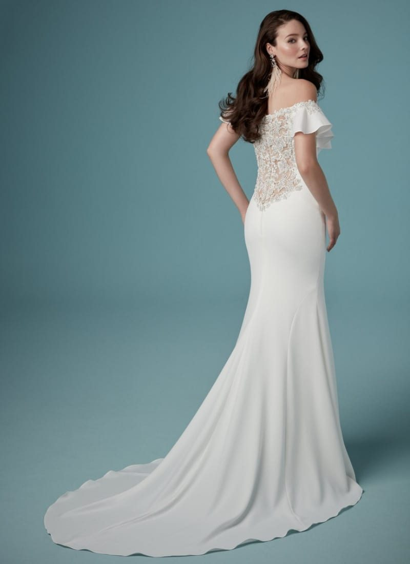 Ainsley by Maggie Sottero back view