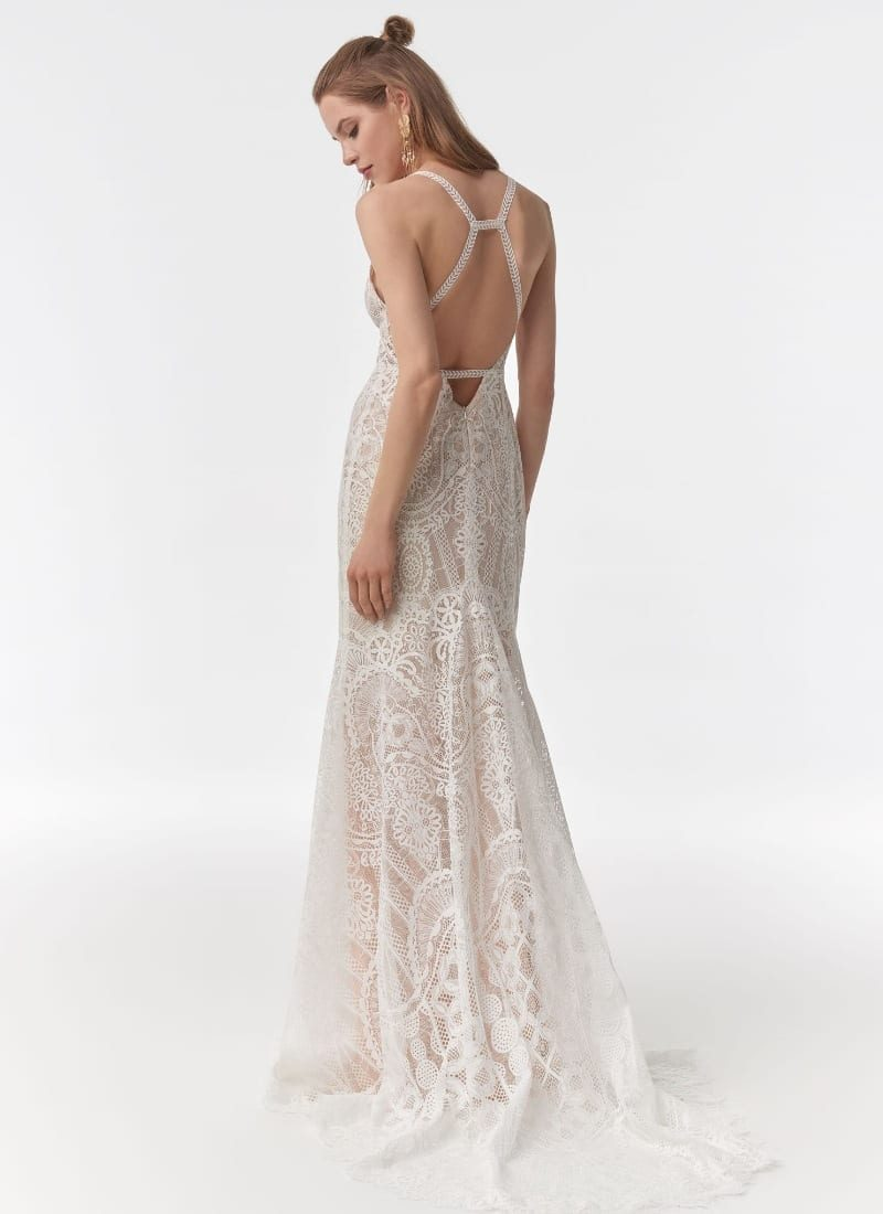 Anna Kara Georgina Wedding dress back