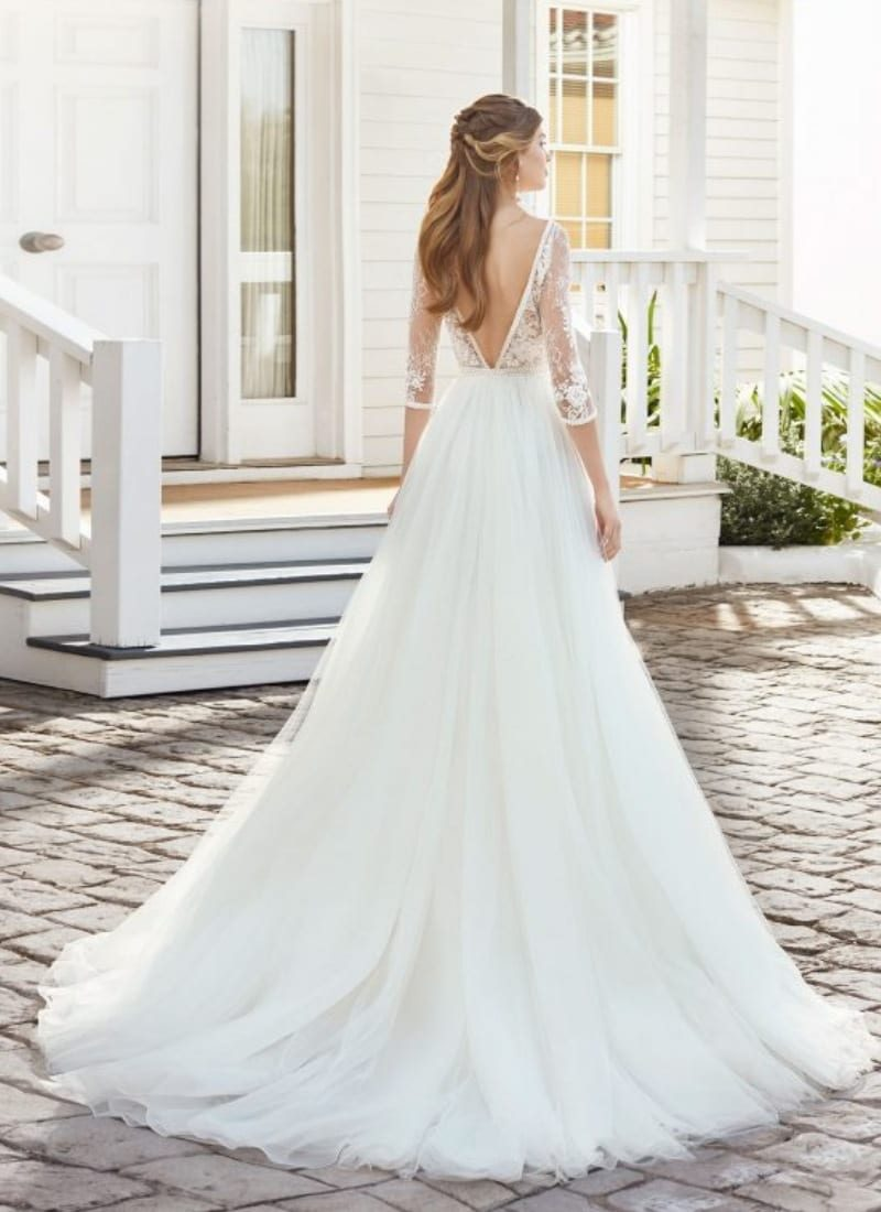 Rosa Clara Cosette wedding dress back