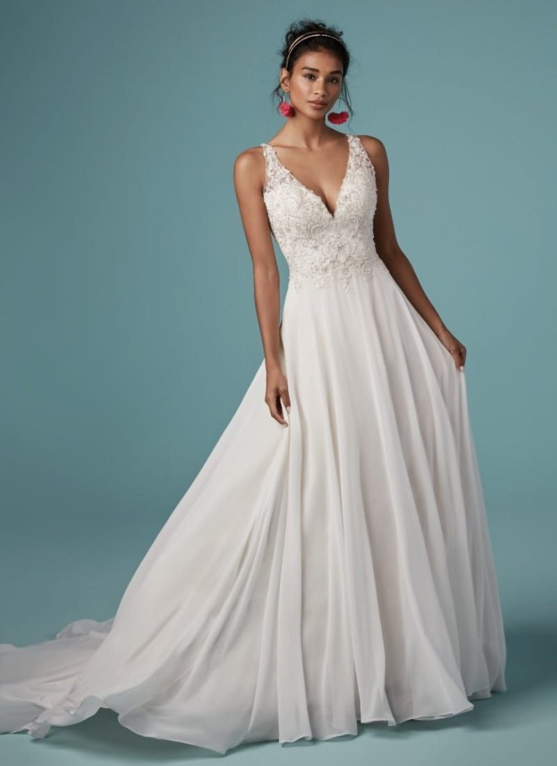 Maggie Sottero Melody Front